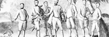 First Cherokee Delegation visit London, England