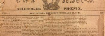 Cherokee Phoenix begins publication